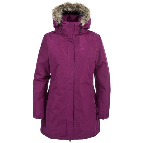 Front - Trespass Womens/Ladies San Fran Padded Jacket