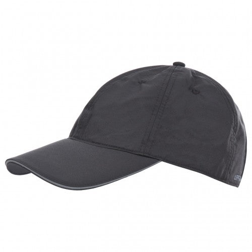 Front - Trespass Mens Cosgrove Quick Dry Baseball Cap