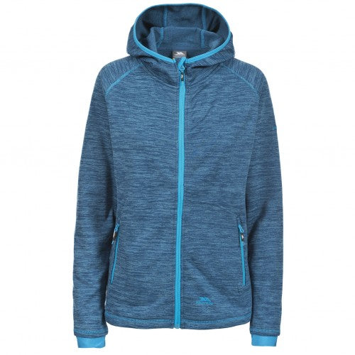 Front - Trespass Womens/Ladies Riverstone Long Sleeve Zip Up Fleece