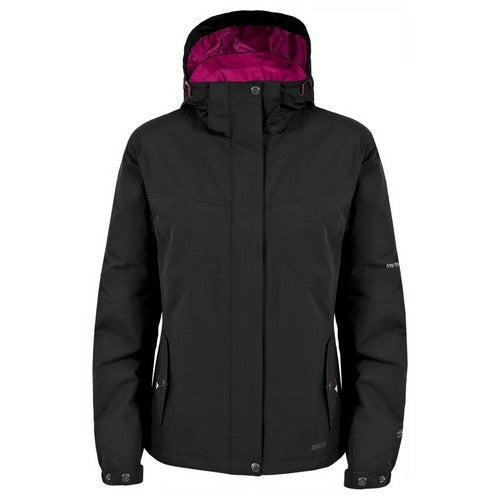 Front - Trespass Womens/Ladies Malissa Lightly Padded Waterproof Jacket