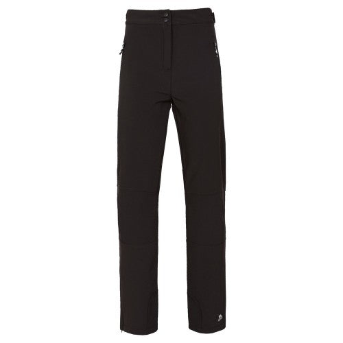 Front - Trespass Womens/Ladies Squidge II Water Resistant Hiking Trousers