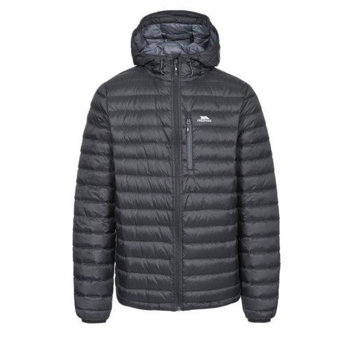 Front - Trespass Mens Digby Down Jacket