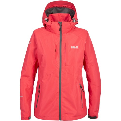 Front - Trespass Womens/Ladies Martina Waterproof Jacket