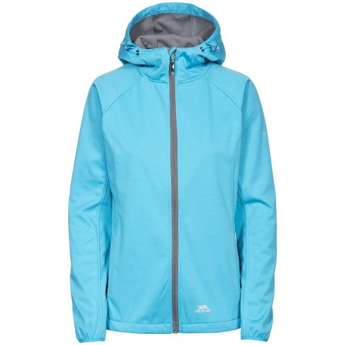 Front - Trespass Womens/Ladies Sisely Waterpoof Softshell Jacket