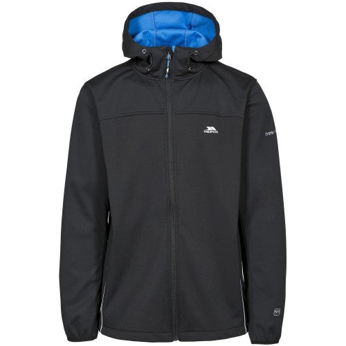 Front - Trespass Mens Zeek Waterproof Softshell Jacket