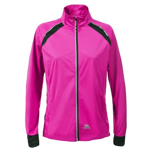 Front - Trespass Womens/Ladies Covered Waterproof Shell Jacket