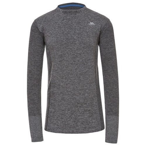 Front - Trespass Mens Timo Long Sleeve Active Top