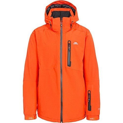 Front - Trespass Mens Kilkee Waterproof Ski Jacket