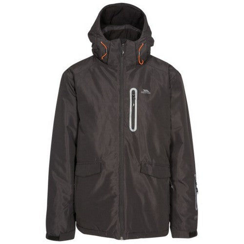 Front - Trespass Mens Slyne Hooded Ski Jacket