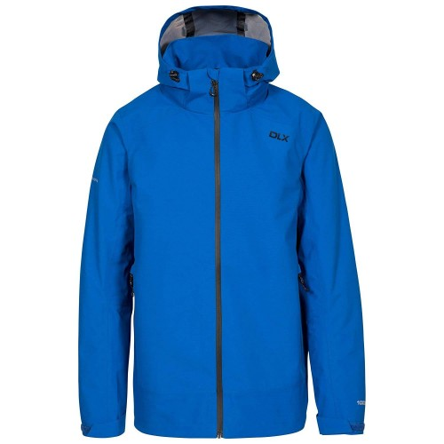 Front - Trespass Mens Lozano Waterproof DLX Jacket