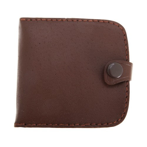 Front - Forest Leather Compact Coin Purse Tray Wallet