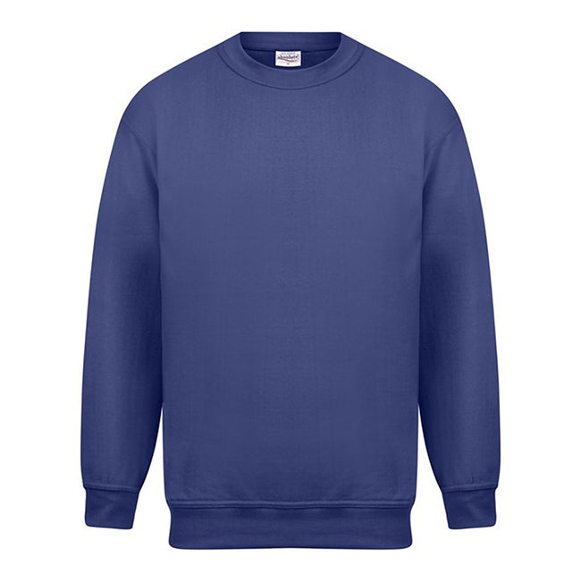 Royal - Front - Absolute Apparel Mens Magnum Sweat