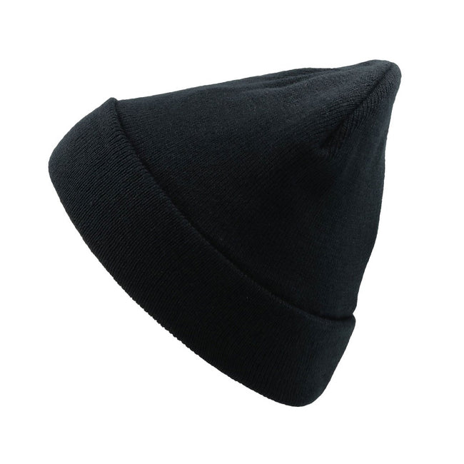Navy - Front - Atlantis Pier Thinsulate Thermal Lined Double Skin Beanie
