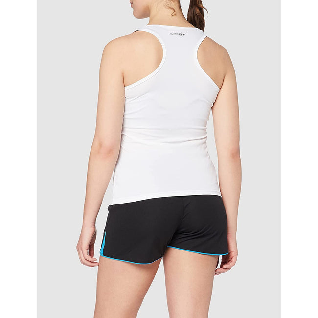 Black Opal - Front - Stedman Womens-Ladies Active Poly Sleeveless Sports Vest