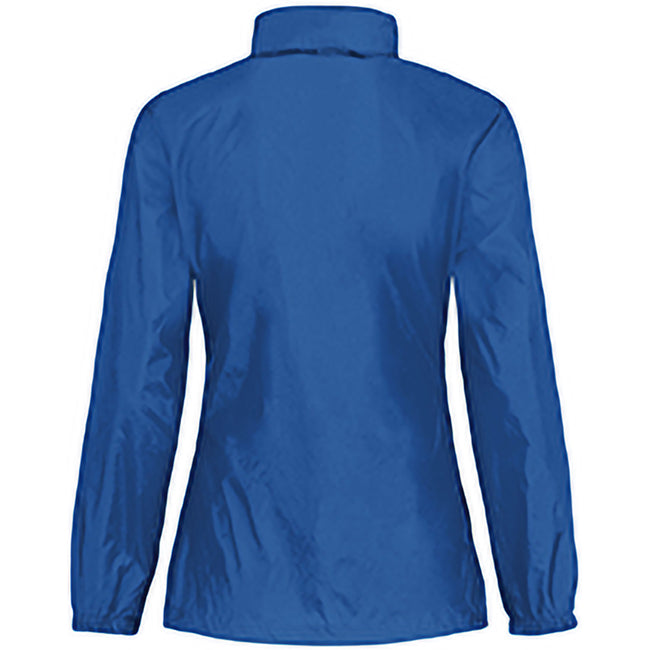 Royal Blue - Back - B&C Womens-Ladies Sirocco Lightweight Windproof, Showerproof & Water Repellent Jacket
