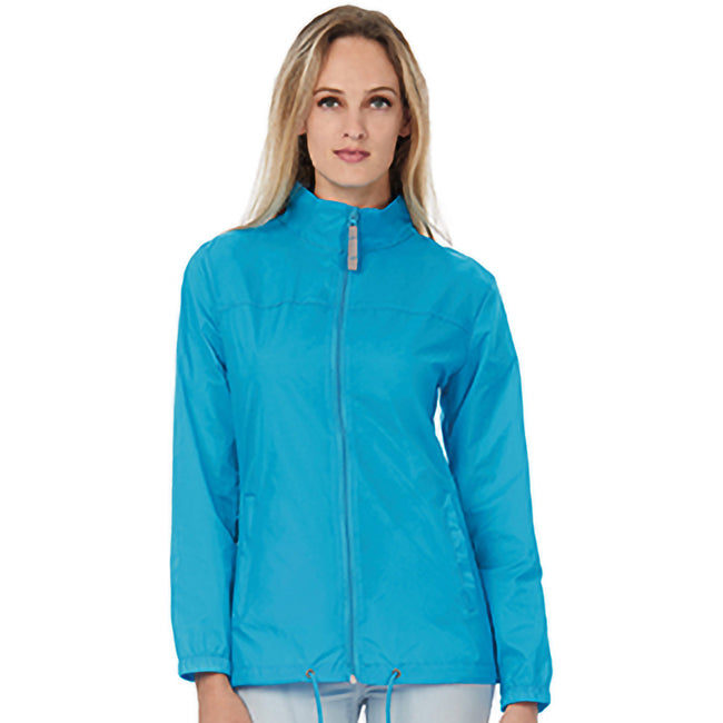 Atoll - Front - B&C Womens-Ladies Sirocco Lightweight Windproof, Showerproof & Water Repellent Jacket