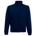 Deep Navy - Front - Fruit Of The Loom Mens Sweatshirt Jacket