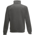 Light Graphite - Back - Fruit Of The Loom Mens Sweatshirt Jacket