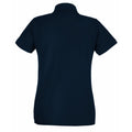 Royal - Back - Fruit Of The Loom Ladies Lady-Fit Premium Short Sleeve Polo Shirt