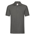 Neomint - Front - Fruit Of The Loom Premium Mens Short Sleeve Polo Shirt