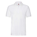 Neomint - Side - Fruit Of The Loom Premium Mens Short Sleeve Polo Shirt