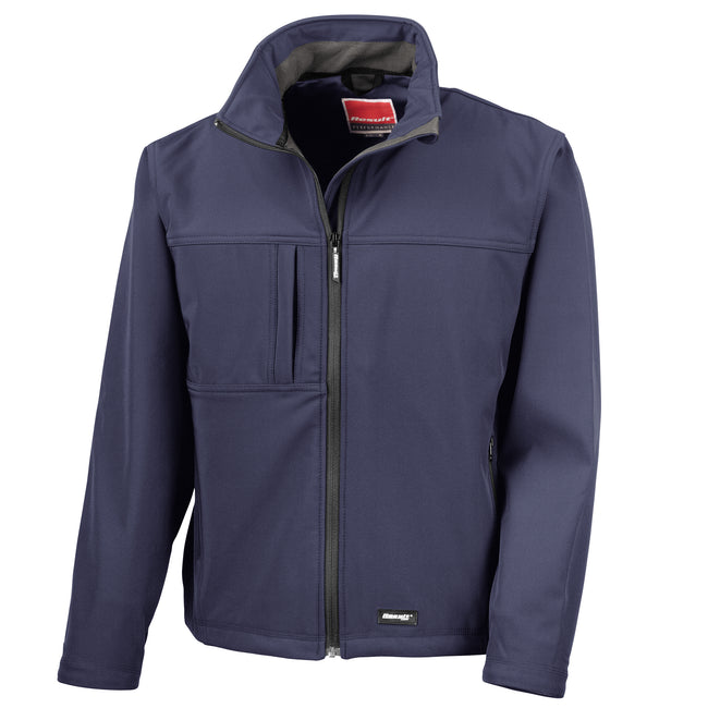 Red - Front - Result Mens Softshell Premium 3 Layer Performance Jacket (Waterproof, Windproof & Breathable)