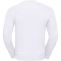 White - Back - Russell Mens Authentic Sweatshirt (Slimmer Cut)