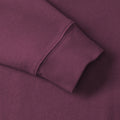 Burgundy - Lifestyle - Russell Mens Authentic Sweatshirt (Slimmer Cut)