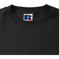 Black - Lifestyle - Russell Mens Authentic Sweatshirt (Slimmer Cut)
