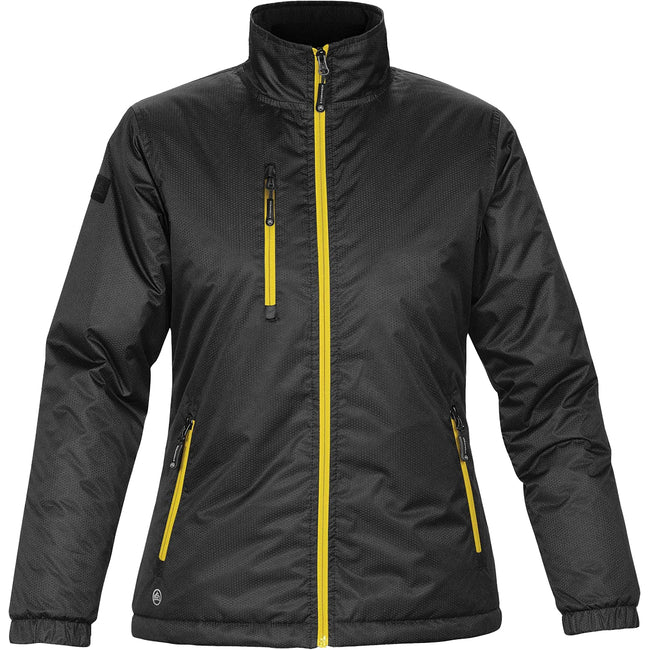 Black-Black - Front - Stormtech Ladies-Womens Axis Water Resistant Jacket