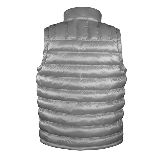 Frost Grey - Front - Result Mens Ice Bird Padded Bodywarmer - Gilet Jacket