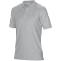Sport Grey - Side - Gildan Mens DryBlend Adult Sport Double Pique Polo Shirt