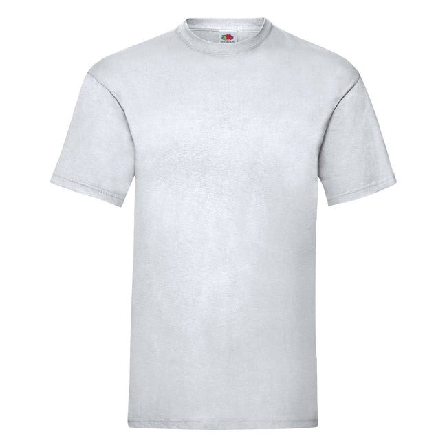 Heather Grey - Front - Fruit Of The Loom Mens Valueweight Short Sleeve T-Shirt