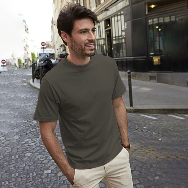 Forest Green - Front - Tee Jays Mens Short Sleeve T-Shirt