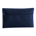 Bottle Green - Front - Quadra Classic Zip Up Pencil Case