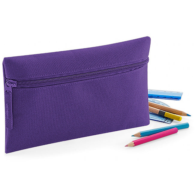 Bright Royal - Front - Quadra Classic Zip Up Pencil Case