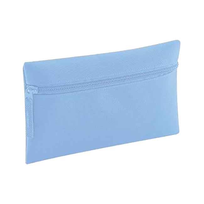 Sky Blue - Front - Quadra Classic Zip Up Pencil Case