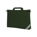 Bottle Green - Front - Shugon Oxford Classic Portfolio Book Bag