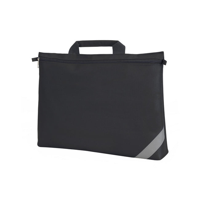 Black - Front - Shugon Oxford Classic Portfolio Book Bag