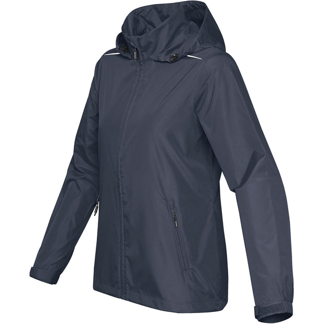 Navy Blue - Back - Stormtech Womens-Ladies Nautilus Performance Shell Jacket