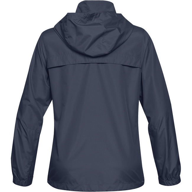 Navy Blue - Side - Stormtech Womens-Ladies Nautilus Performance Shell Jacket