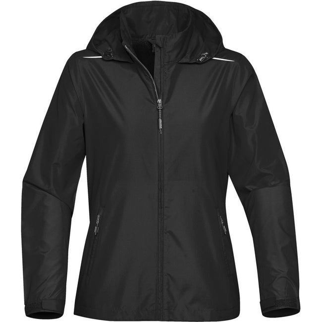 Black - Front - Stormtech Womens-Ladies Nautilus Performance Shell Jacket