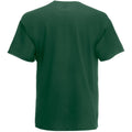 Dark Green - Back - Mens Value Short Sleeve Casual T-Shirt