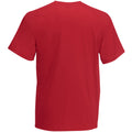 Dark Red - Back - Mens Value Short Sleeve Casual T-Shirt