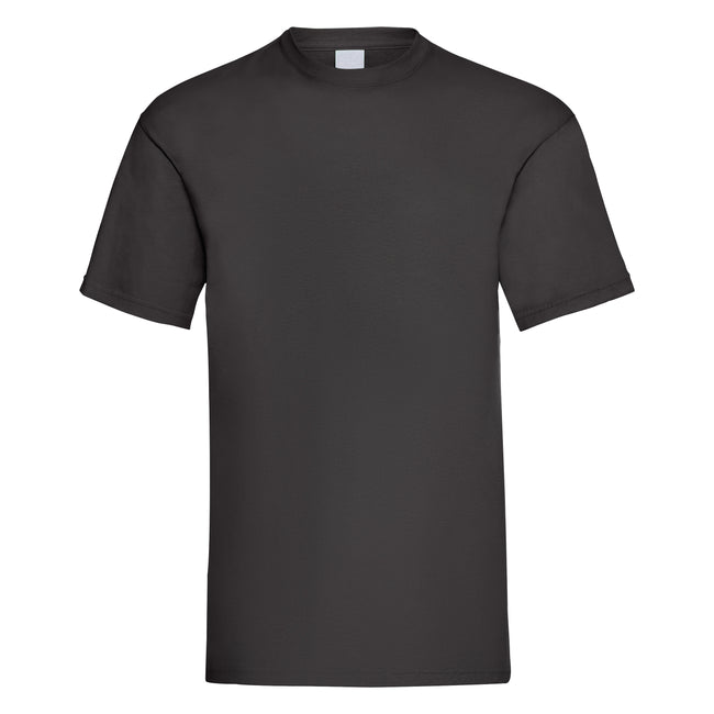 Gold - Front - Mens Value Short Sleeve Casual T-Shirt