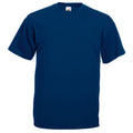 Oxford Navy - Front - Mens Value Short Sleeve Casual T-Shirt