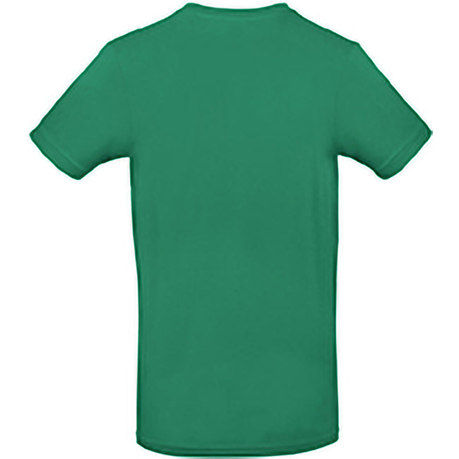 Kelly Green - Back - B&C Mens #E190 Tee
