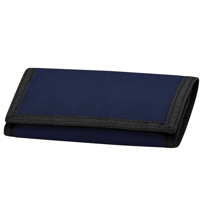 French Navy - Front - Bagbase Ripper Wallet (Pack of 2)