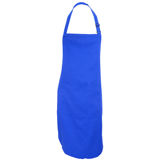 Sapphire - Front - Dennys Adults Unisex Catering Bib Apron With Pocket (Pack of 2)