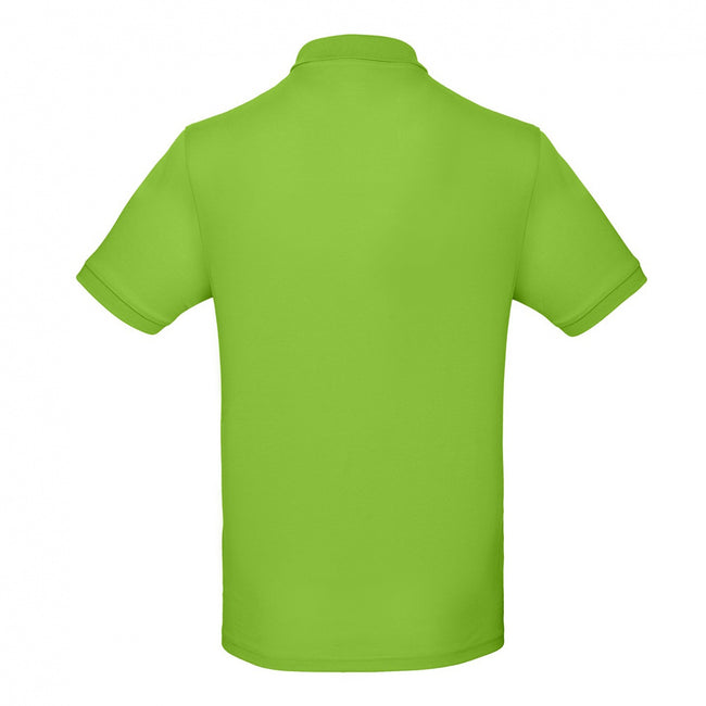 Millennial Mint - Back - B&C Mens Inspire Polo (Pack of 2)